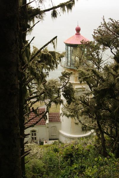Heceta Lighthouse.