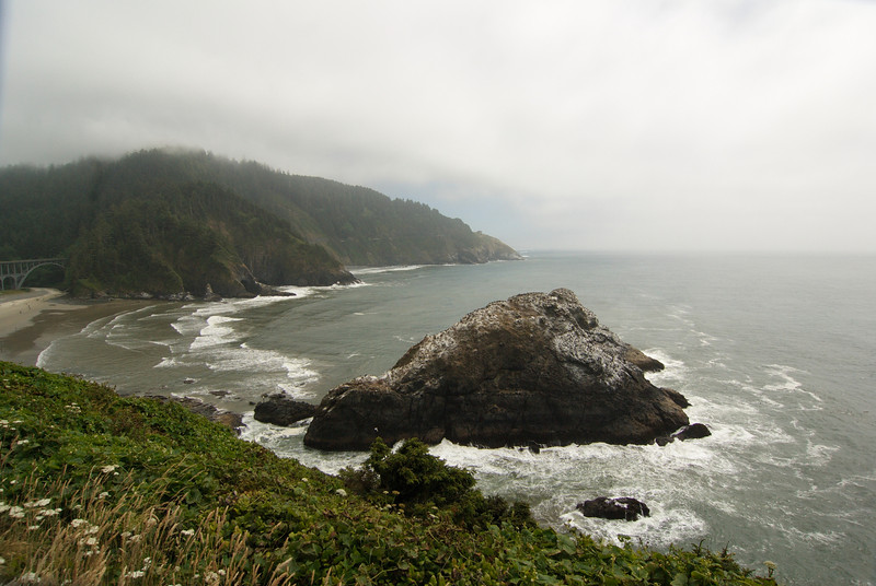 Heceta Head Beach.