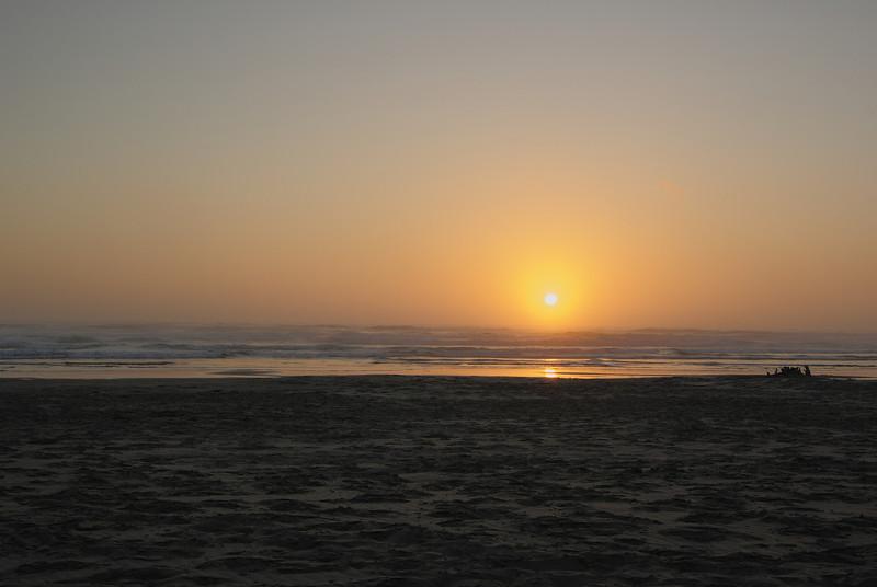 Sunset at Beachside State Park.