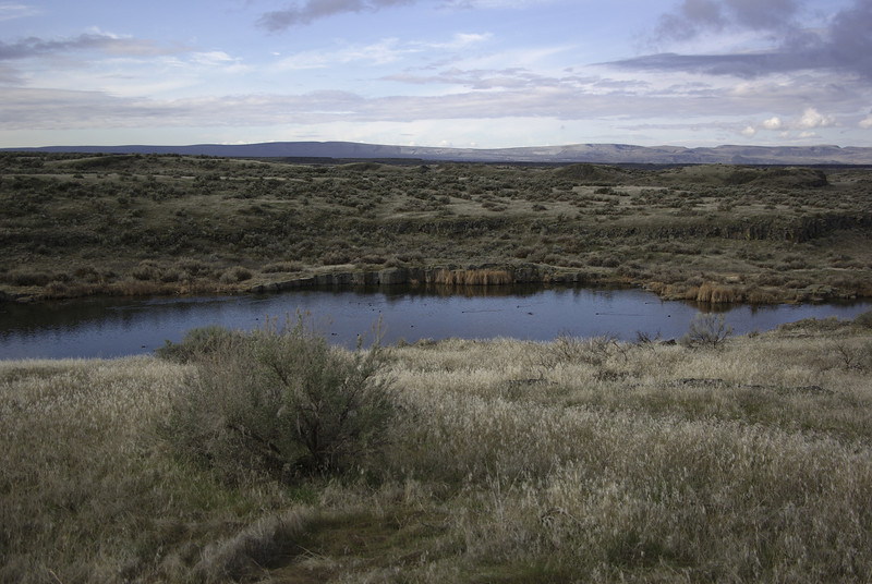 """Forgotten Trails"" hike in the Columbia Basin National Wildlife Refuge  2008"