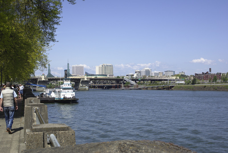 Willamette River Portland, OR