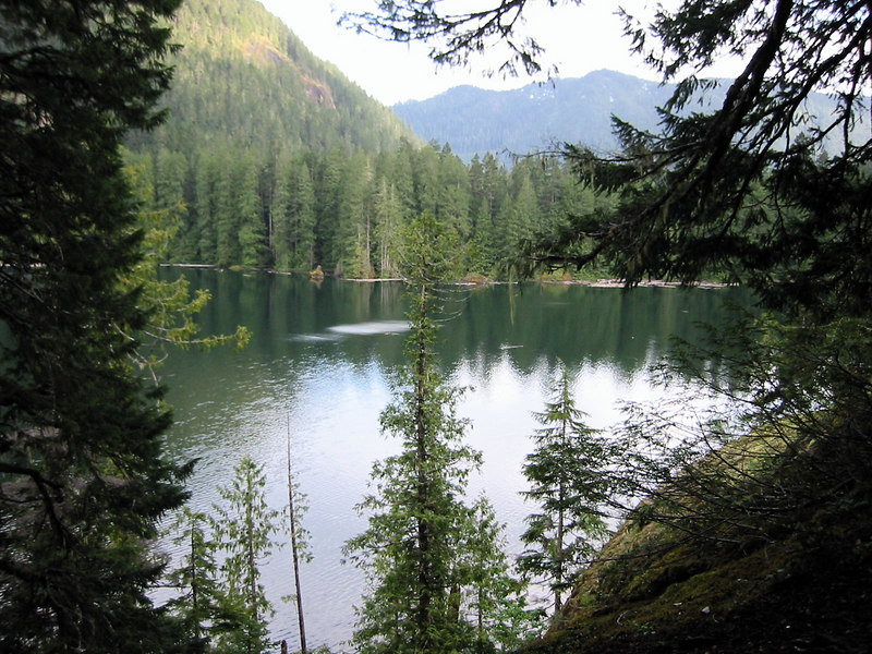 Olympic National Park.  Lena Lake.  I love this shot.