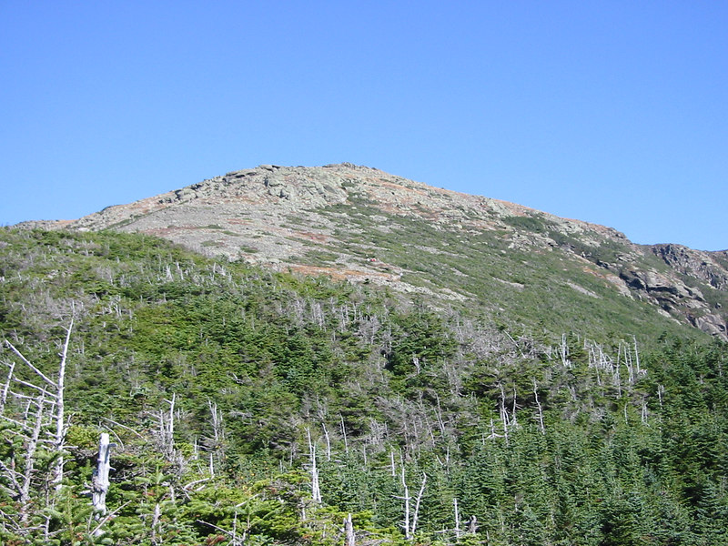 Looking back at Mount Lincoln