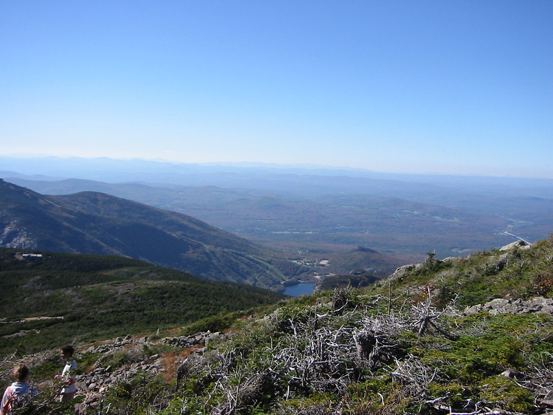A bit lower on Mount Lafayette
