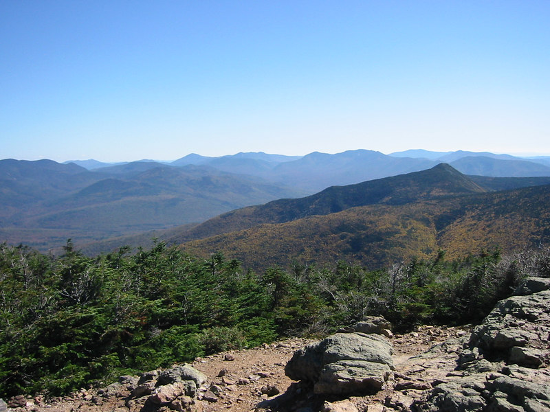 View from Mount Lincoln