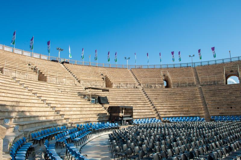 Roman amphitheatre, Caesarea Maritima
