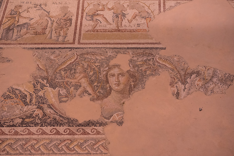 """Mona Lisa of the Galilee"" moasic, Sepphoris"