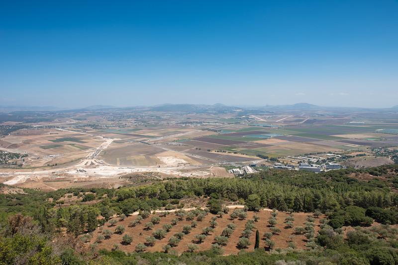 Jezreel Valley from Mount Carmel