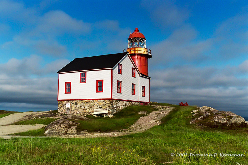 The Ferryland Lighthouse, Ferryland Newfoundland