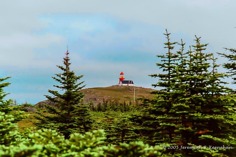 The Ferryland Lighthouse, Newfoundland