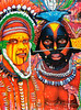 Painting by Papua New Guinea Artist Daniel Waswas