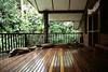 Tawali Resort - Teakwood Deck at the Main Building