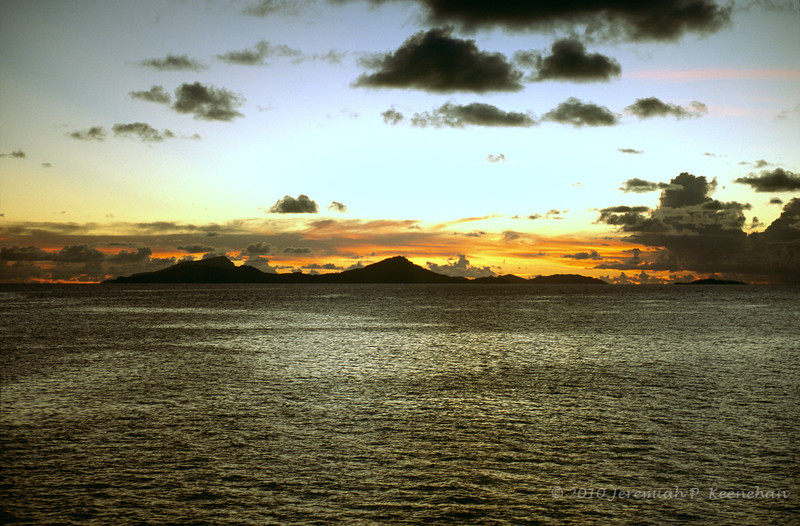 Islands in Truk Lagoon, Micronesia