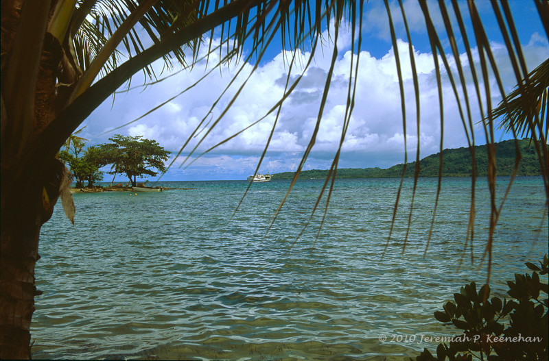 Truk Lagoon - Truk Odyssey Dive Boat Offshore