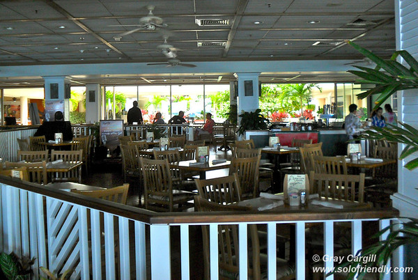 The Shorebird Restaurant at the Outrigger Reef on the Beach