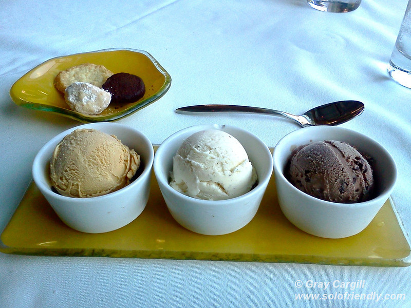 Ice Cream Trio at MASA