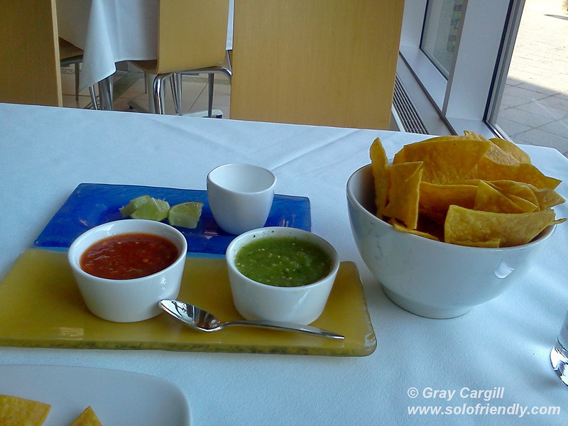 Chips and Salsa at MASA
