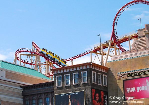 NYNY Roller Coaster