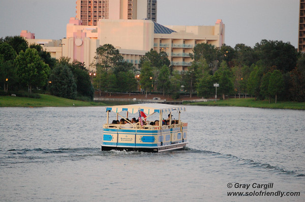 Friendship boat at Disney