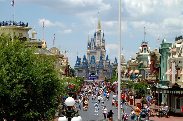 Main Street and Cinderella's Castle