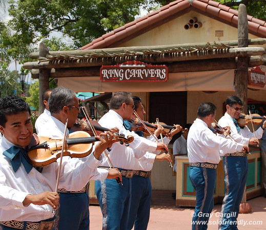 Musicians in Epcot's Mexico