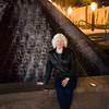 Cyn at the Loring Greenway Fountain