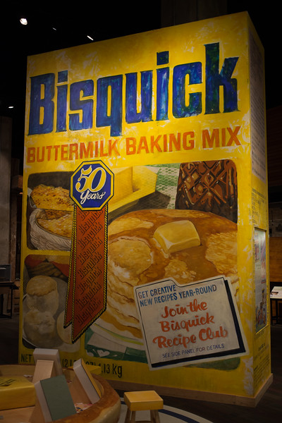 Bisquick Sculpture at Mill City Museum