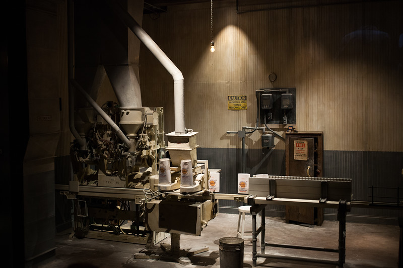 Flour Bagging Machine at Mill City Museum
