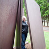 CKB at Richard Serra's Five Plates, Two Poles