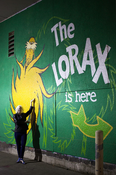 The Lorax is Here