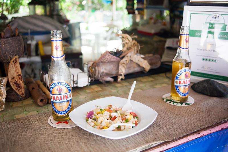 Conch Salad at Max Conch Bar