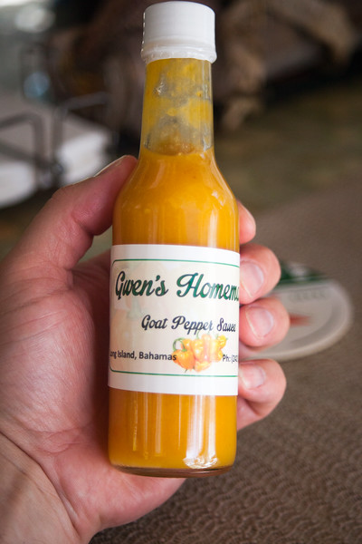 Gwen's Homemade Goat Pepper Hot Sauce
