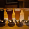 Outer Banks Brewing Station sampler