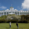 Mackinac Island Grand Hotel. (stitch of 3 picture)