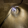 Dam ventilation shaft/tunnel