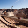 Hoover Dam - Viewed from visitor center parking