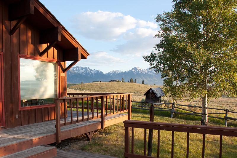 Our adventure began the week of July 19 when a group of family and friends gathered in Jackson Hole. I arrived in Jackson Hole with my friend Rob Fernley. His family's house, where most of us were staying, sits on the edge of Grand Teton National Park
