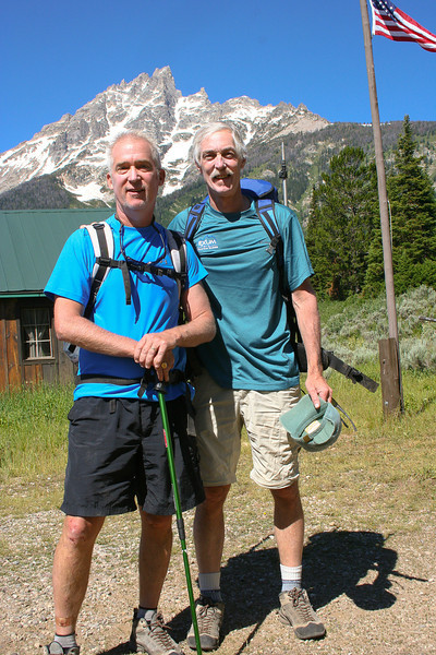 Rob and Lou, ready for the climb. (Photo: Ellen Fernley)