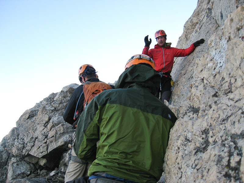 Dave Bowers, the lead guide, tells us about the strategy for the route ahead.