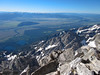 Looking over the Jackson Hole valley, to the south.