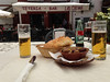Later, our last tapas in Granada at the neighborhood teteria.