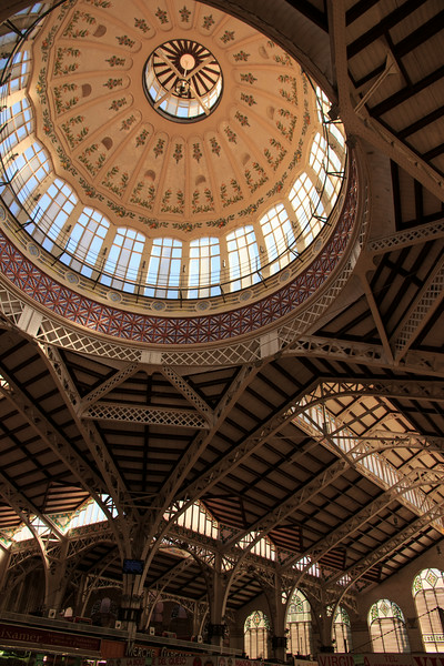 In a spectacular domed building . . .