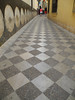 . . . and beautiful tiled streets.