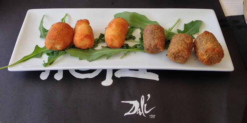 Tapas for lunch at one of the waterfront restaurants . . .