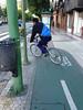 Dedicated bike lanes!