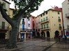 Though unfortunately we when arrived it started to rain. Still a pretty town!