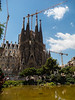 The Sagrada Familiia, has been under construction since 1882 and is still only half completed.