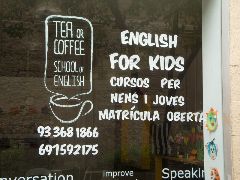 . . .and also the school where Hannah teaches some of her classes.