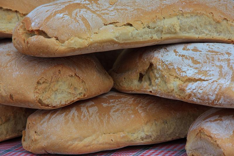 local artisan breads . . .