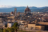 which rises over the heart of Florence.